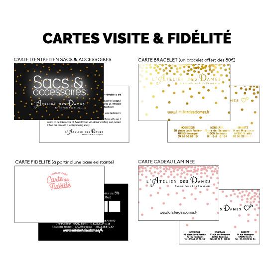 Création de cartes personnalisées