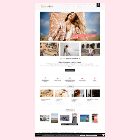 Home page L'Atelier Des Dames